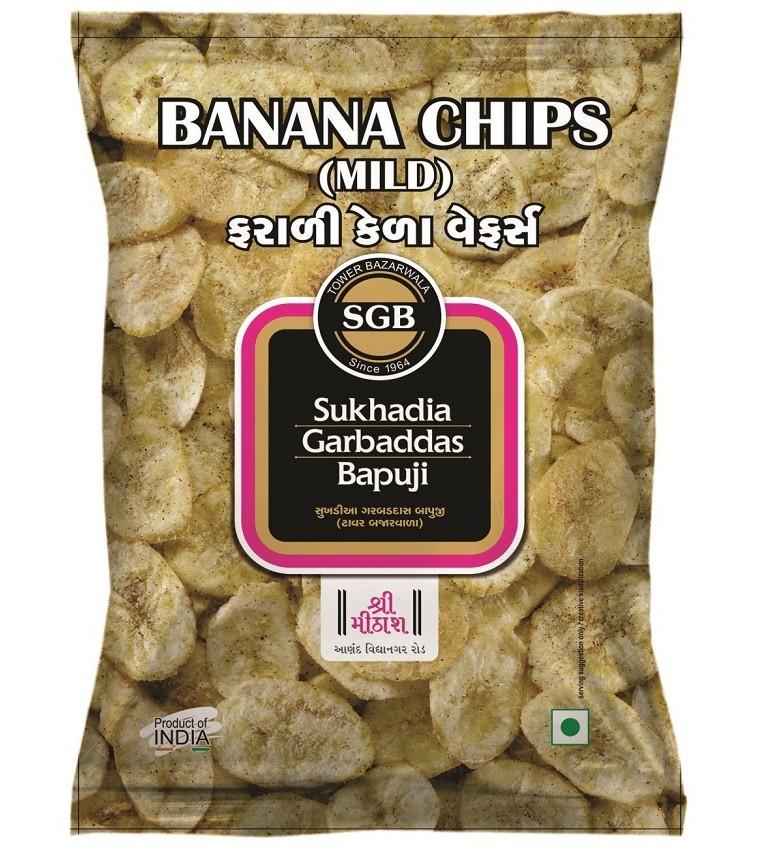 Banana Chips Round & Mild
