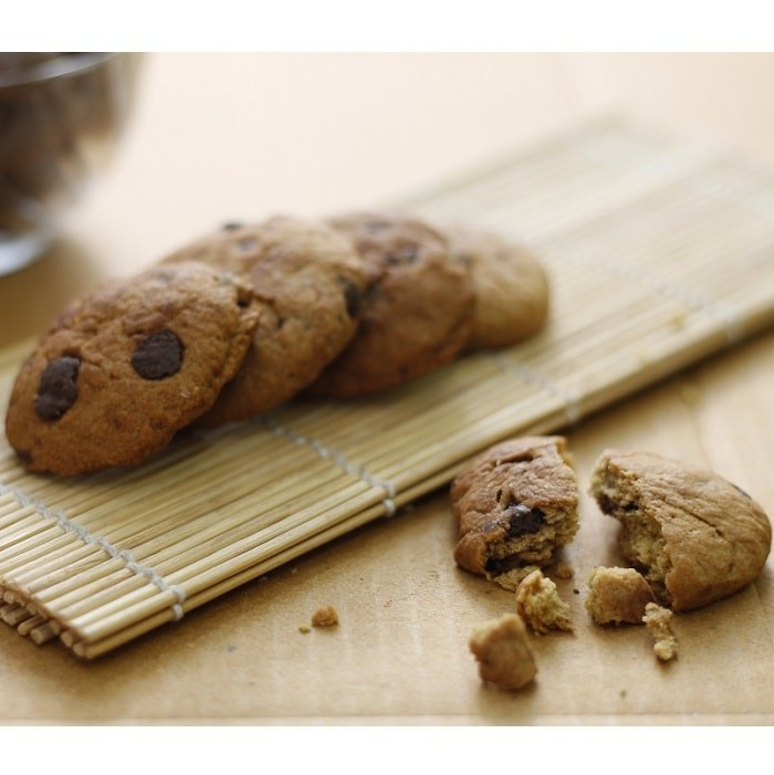Choco-Chip Banana Cookies