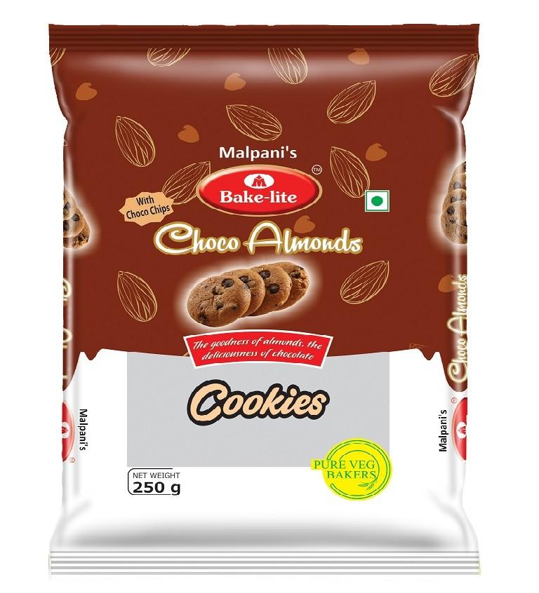 Choco Almond Cookies