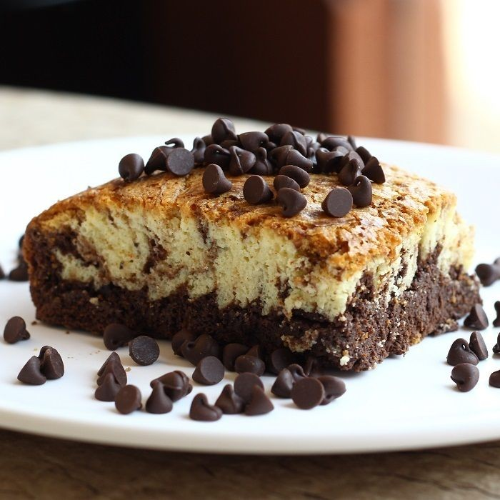 Chocolate Interplay Brownie