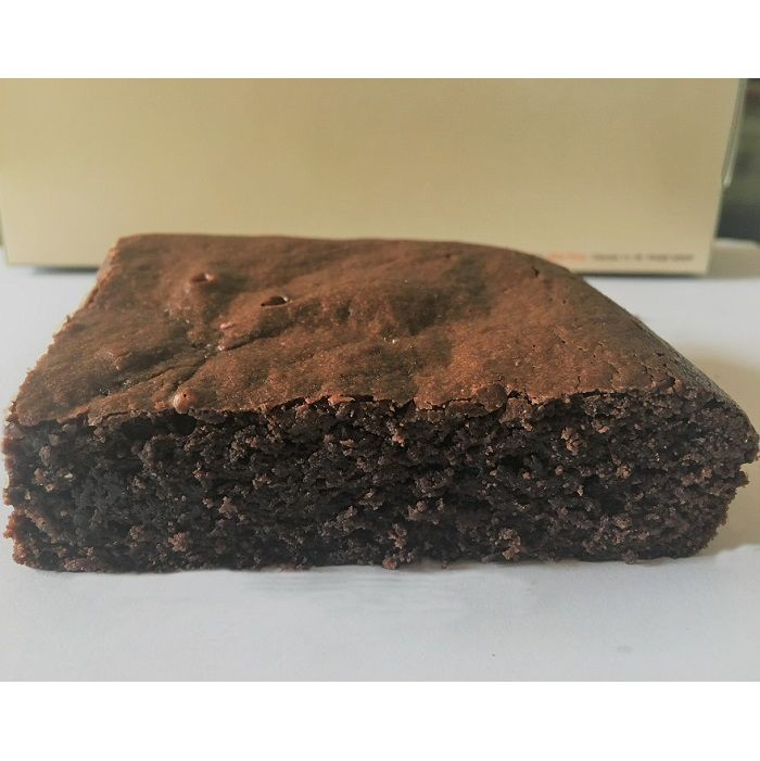 Eggless Classic Brownie