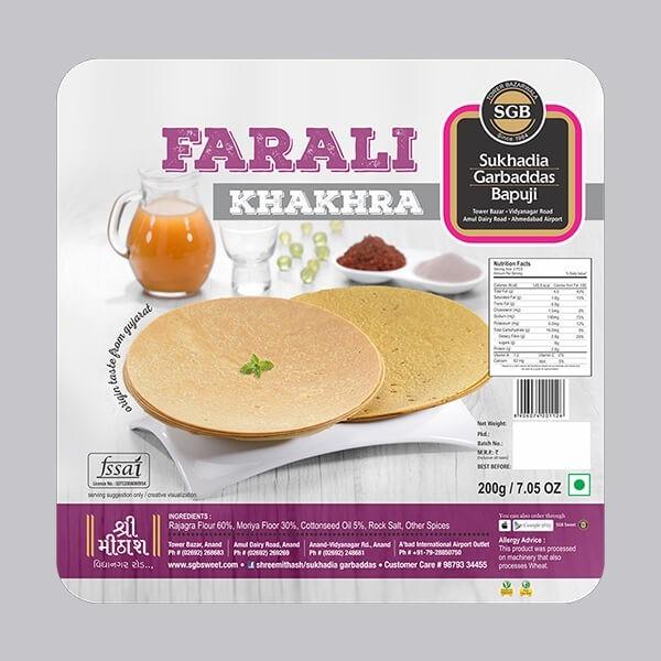Farali Khakhra