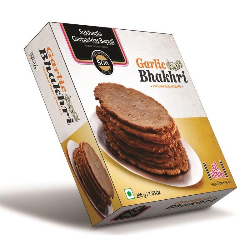 Garlic Bhakhri