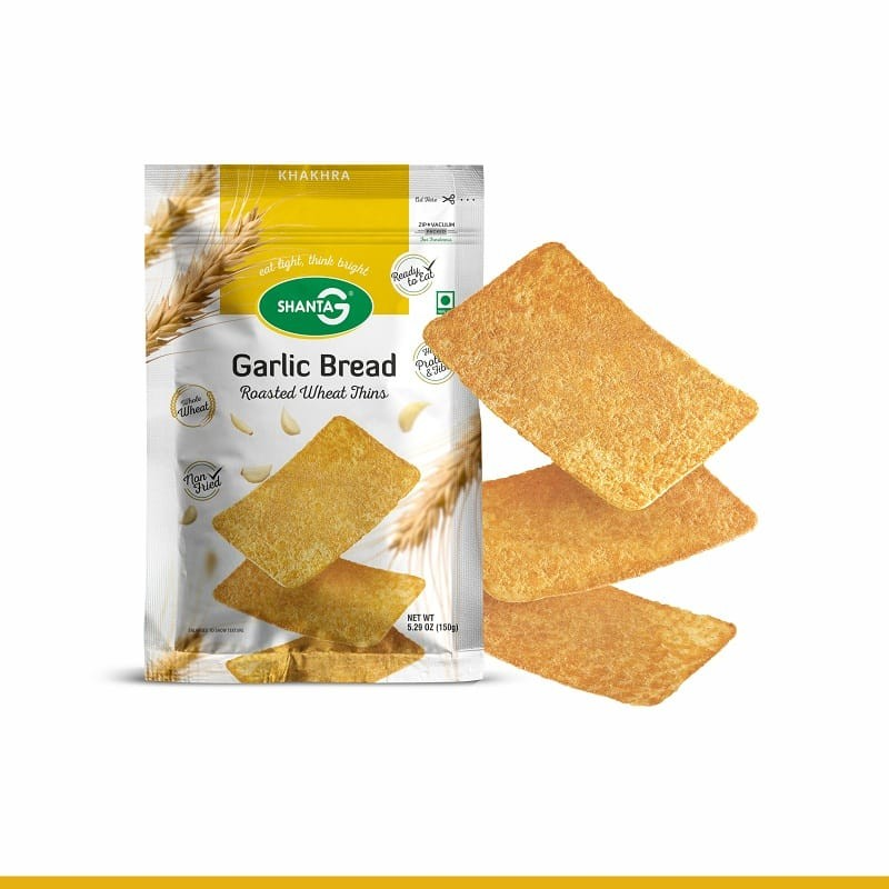 Garlic Bread Wheat Thins Khakhra
