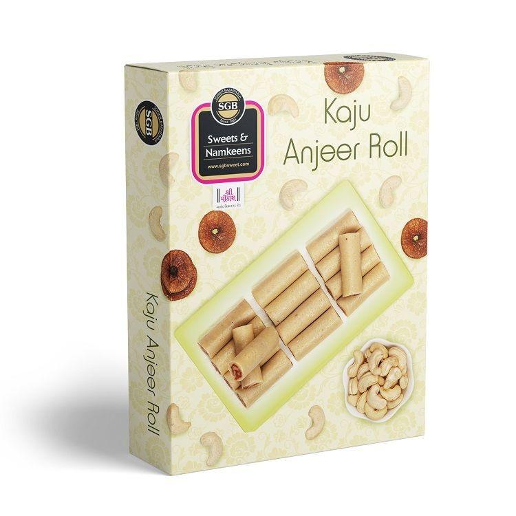 Kaju Anjeer Roll