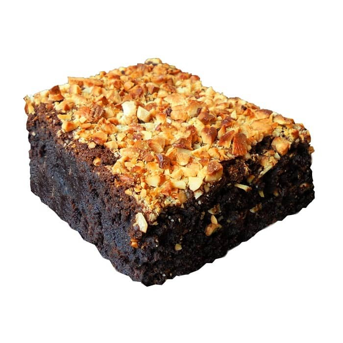 Rum N Roasted Nuts Brownie