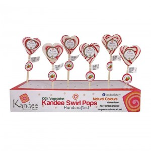 Classic Strawberry Kandee Sweet Heart Natural Color - Pack of 6
