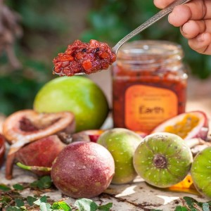 Fig and Passion Fruit Preserve