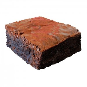 Jamaican Rum Infused Brownie