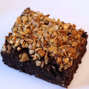Roasted Nuts Brownie