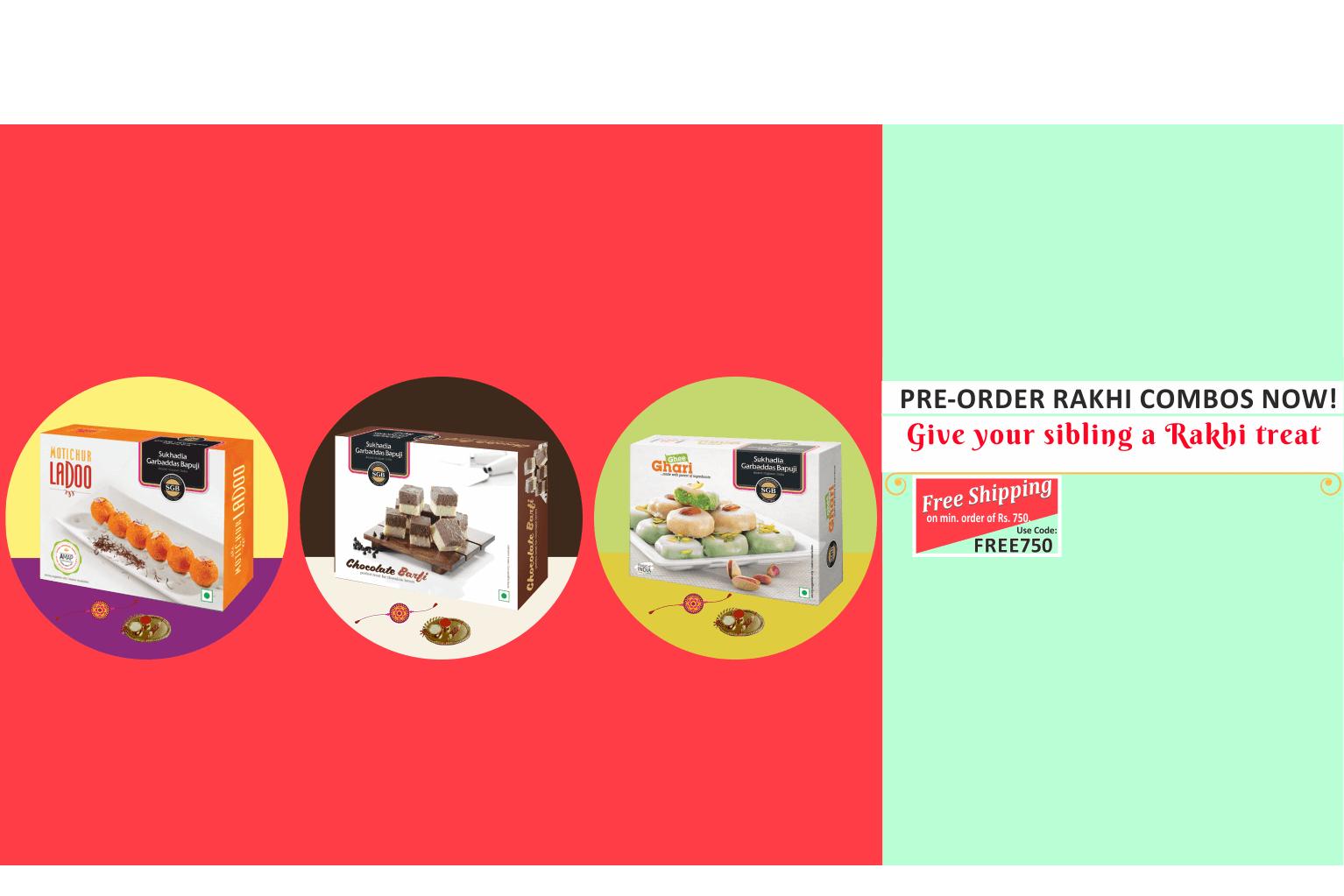 Rakshabandhan 2018 Rakhi Combo Packs